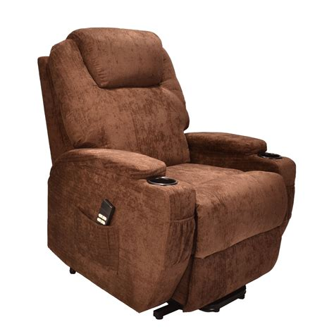 Burlington Chairs by Burlington Fabric Dual Motor Riser Recliner Chair Elite