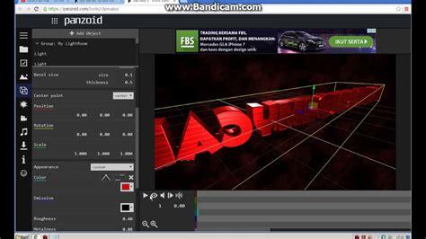 cara membuat opening video dengan pinnacle tutorial cara membuat intro nama 3d gang youtube