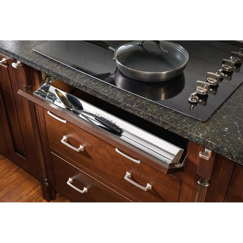tilt out sink tray home depot knape vogt 3 in x 31 1 in x 2 in steel sink front