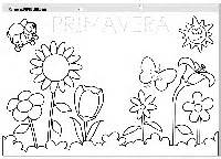spring coloring pages in spanish 17 best images about en espa 241 ol spanish on pinterest