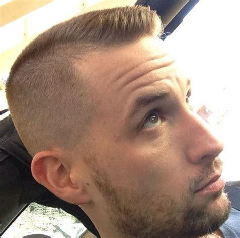Low Fade Haircut For Balding Men Hairstyles For Balding Men Mens