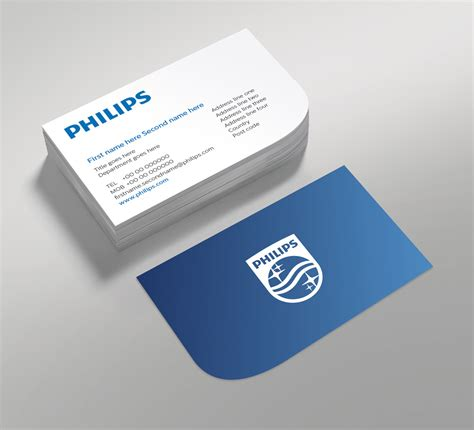 led card template brand new new logo and identity by and for philips