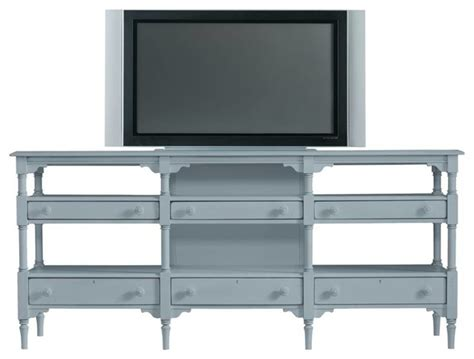 cottage style tv stand coastal living cottage reunion console style entertainment centers and tv stands by