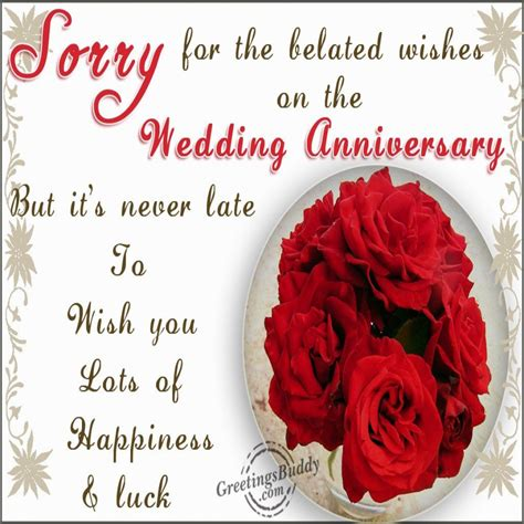 Belated Wedding Anniversary Wishes Quotes by Inspirational Happy Belated Anniversary Images