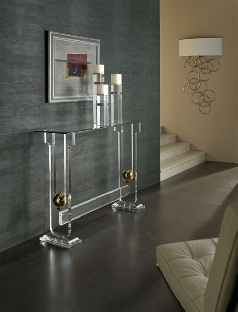 Glass Sofa Tables Contemporary Top 50 Modern Console Tables Page 33 Home Decor Ideas