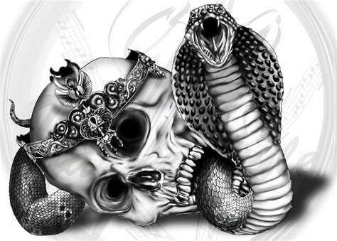 cobra tattoo design king cobra by yankeestyle94 on deviantart