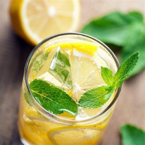 Detox Wasser Zitrone Minze by Detox Kur Frische Und Gesunde Ideen Mit Den Folgenden