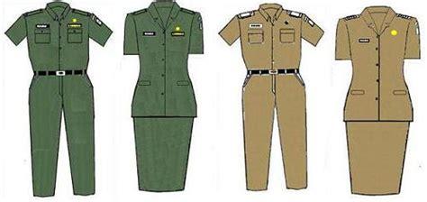 Pakaian Dinas Pns jurnal anomali pakaian dinas pns atribut tanda pangkat