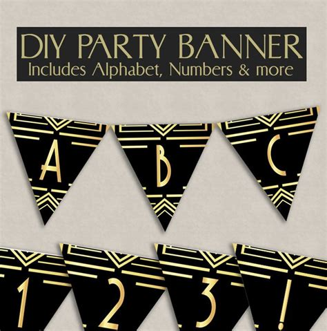 Gatsby Wedding Banner by Best 25 1920s Decorations Ideas On
