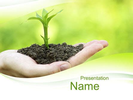 plants themes for powerpoint 2007 free download plant growth presentation template for powerpoint and