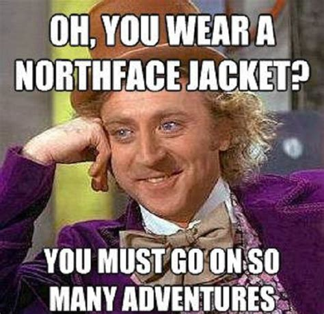 Viral Meme - northface jacket 50 best funny viral picture
