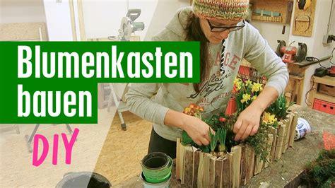 Blumenkästen Selber Bauen by Blumenkasten Aus Holz Selber Bauen Anleitung Mit