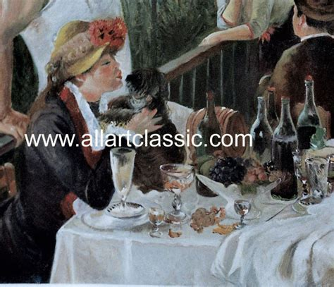 facts about luncheon of the boating party oil painting reproduction sles 7