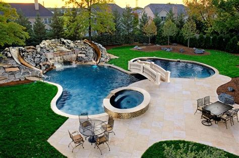 Epic Backyard Pools Northbrook Il Freeform Pool Spa Grotto As Featured On