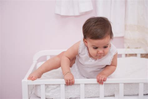 Babies Climbing Out Of Cribs The Toddler Climbs Out Of Crib Scenario Is Giving Me Momsomnia