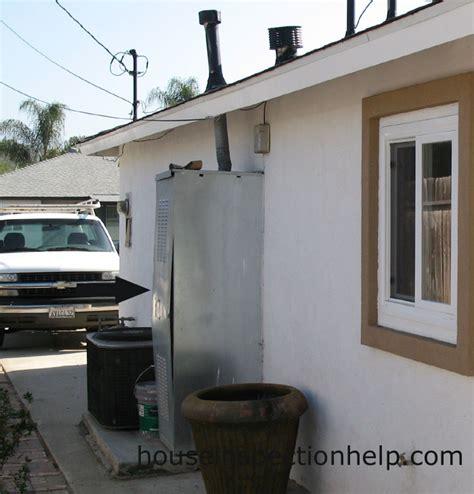 metal water heater enclosure