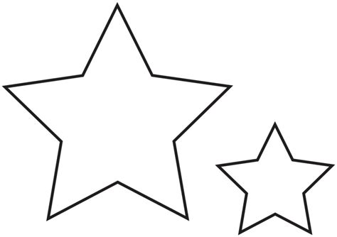 figuras geometricas la estrella figura de estrellas para pintar imagui
