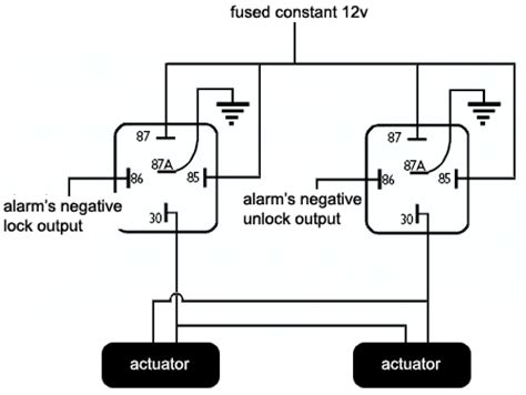 door lock actuator wiring diagram agnitum me
