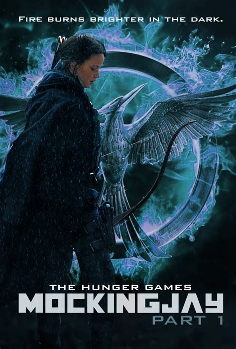 For Part I by Hunger Mockingjay Part 1 Poster By