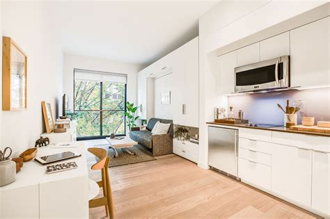 micro apartments here s what nyc s first micro apartments will look like on