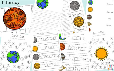 printable worksheets solar system kindergarten solar system printable worksheets and activities pack