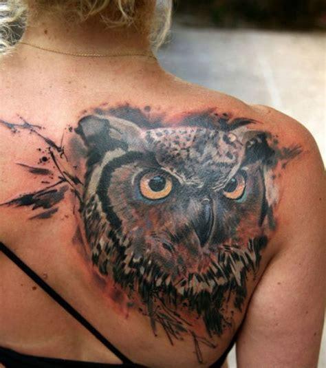 imagenes de tatuajes de buhos para mujeres tatuajes de b 250 hos diferentes dise 241 os y significados