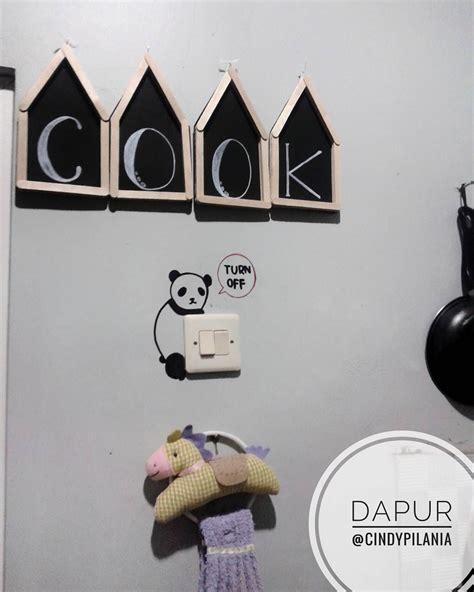 Kitchen Stiker Rak Piring diy dinding dapur desainrumahid