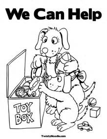 Helping Coloring Pages free coloring pages of helping