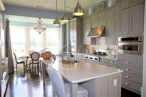 Benjamin Moore Galveston Grey AC  27 Kitchen from Gwyneth