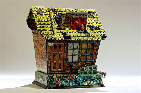 haunted house toy featured artwork hootin hollow haunted house by marx toys manhattan art and