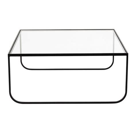 Impressionnant Table Basse Carree Verre #4: Table-basse-carree-en-metal-et-verre-trempe-l-90-cm-dixon-1000-3-28-155910_1.jpg