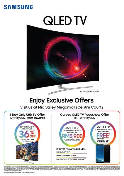 Promo Tv Samsung 55q8c 55 Inch Qled Uhd 4k Curved Smart Tv get a 55 inch samsung uhd tv for rm2 999 hardwarezone my