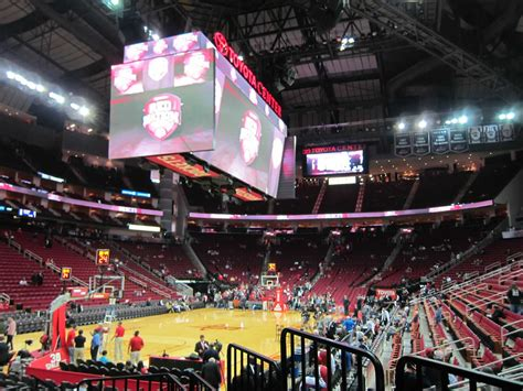 section 125 toyota center toyota center section 125 houston rockets