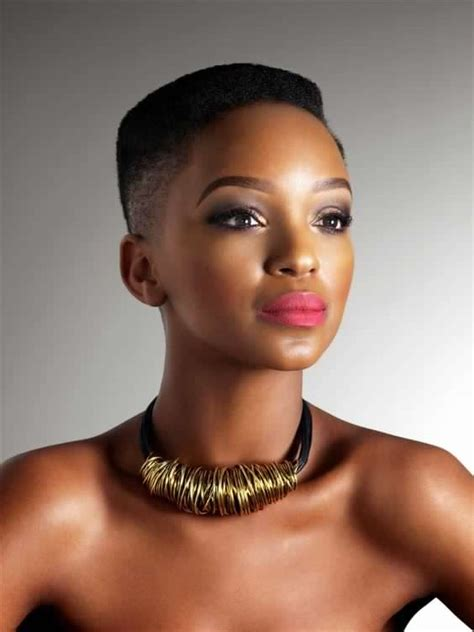 south africal celebrities with african hair 5 sa female celebs who prove you don t need a weave to
