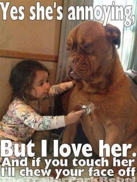 Doge Girl Meme - little girl and pet dog funny pictures quotes memes jokes