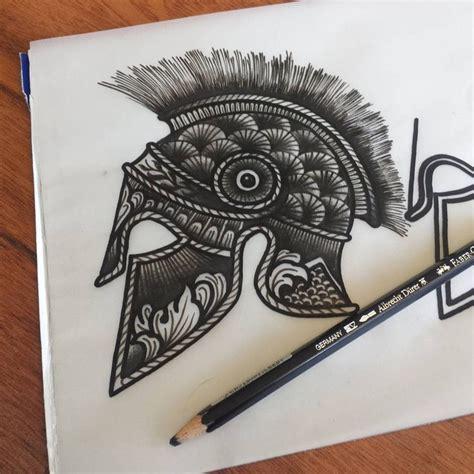 tattoo prices rome roman helmet tattoo idea blackwork tattoo pinterest
