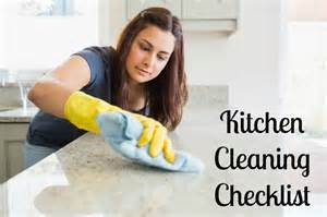 cleaning a kitchen kitchen cleaning checklist nepa mom