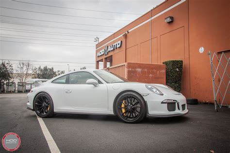 porsche sharkwerks video porsche 991 gt3 gets brutal sharkwerks exhaust
