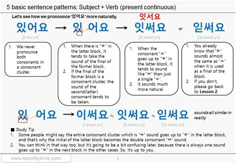 sentence patterns part 1 lesson 3 part 1 part 2 pdf 5 basic sentence