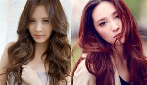 hair colors for asian asian red hair