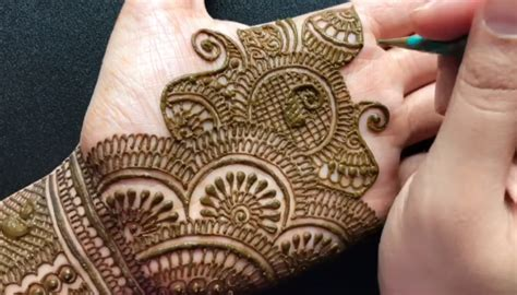 traditional rajasthani bridal henna mehndi design full