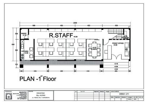 layout rumah kantor bangunan kantor minimalis 2 lantai untuk pergudangan