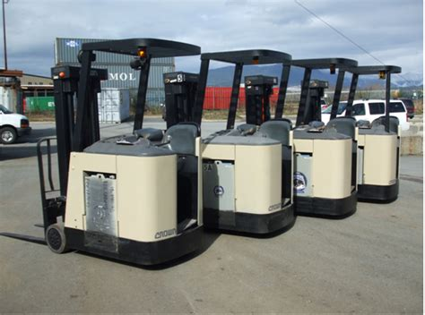 Standing Forklift by Crown Forklifts Vancouver