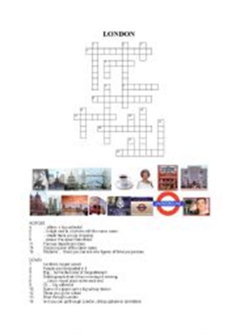 printable london puzzle english teaching worksheets london