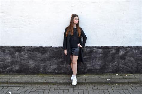 sofie rome june sheer top pimkie leather skirt