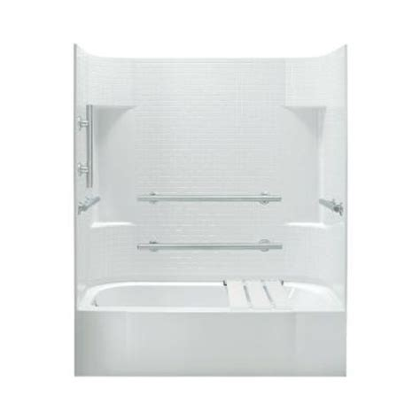 bathtub kits home depot sterling accord 30 in x 60 in x 72 in bath and shower