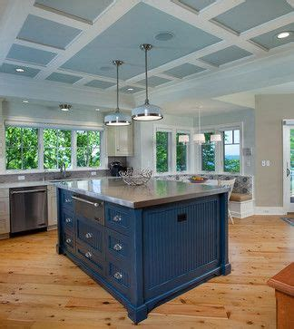 Kitchen  low  ceiling  coffered Design Ideas, Pictures