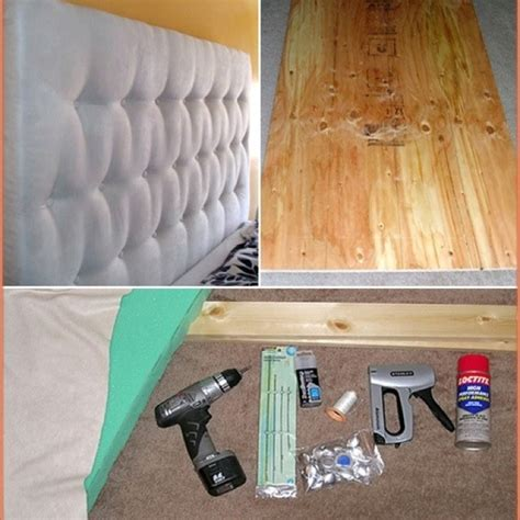Diy Tufted Headboard Make Your Own Headboard Stuff I M Gonna Make Rather Than Buy Skin Care Anti