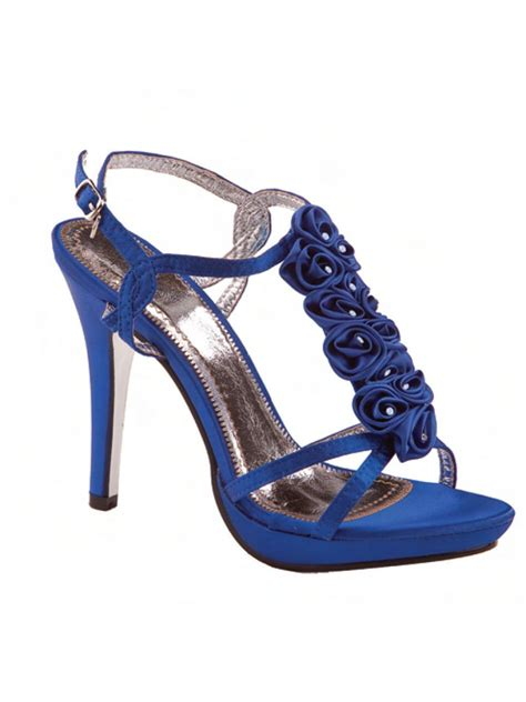marlee in royal blue bridal prom evening shoes ebay