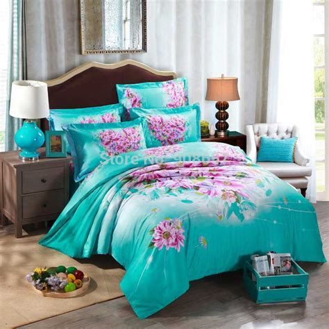 turquoise bedding get cheap turquoise bedding aliexpress
